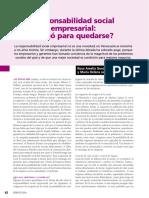 Sesion 6 - Gonzalez y Jaén - Resposabilidad Social Empresarial Llegó Para Quedarse