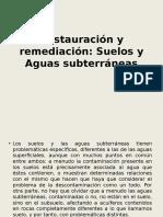Restauracion y Remediacion Suelos y Aguas Subterraneas