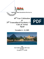 2009 Trans Cultural Psychiatry Conference