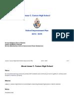 jchs school improvement plan 14-16-2