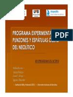 Programa experimental