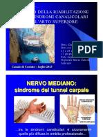 IL RUOLO DELLA RIABILITAZIONE Nelle Sindromi Canicolari Dell_arto Superiore