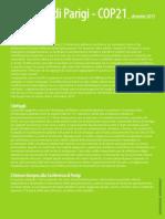 L'accordo di Parigi sul clima - COP21