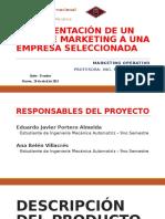 Marketing Operativo - Plan de Marketing (PARTE 1 y 2) (Descripción, Entornos e IM)