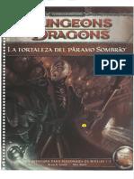 D&D 4ed - La Fortaleza Del Páramo Sombrio
