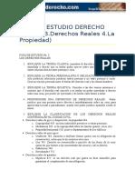 Guia de Estudio Civi LII Derechos Reales y Propiedad