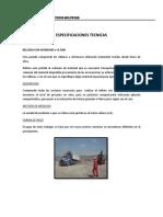 Analisis y Especificaciones Para Partidas de Cerco - Rixi