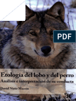 Etologia Del Lobo y Del Perro de David Nieto Macein
