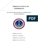 Universidad Nacional de Chimborazo Teroia