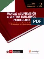 Manual de Supervision de Centros Educativos Particulares
