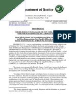 Shkreli-Greebel Takedown Press Release (12!17!15)