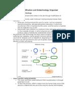 Gene Modification and Biotechnology Organizer