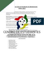 Manual Beca de Transporte Centro de Estudiantes 2015