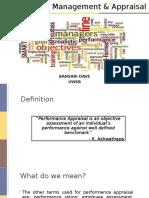 Performance Management & Appraisal