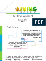 Training & Development.ppt