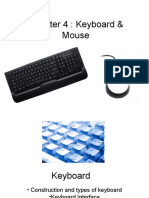 Chapter 4 - Keyboard and Mouse