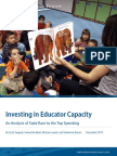Investing in Educator Capacity