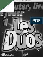 De Haske - Ecouter, Lire and Jouer - Les Duos Vol.1 (Eb)