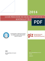 Manual Per Perdorimin e Excelit