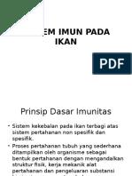 Sistem Imun Pada Ikan