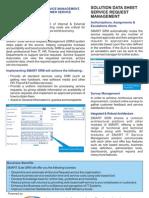 Service Request Management Datasheet