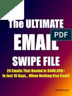 Ultimate Email Swipe File (EG)