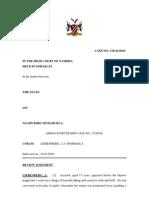 The State Versus Ngahukiro Muharukua