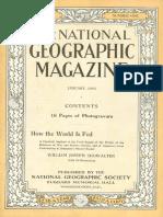 National Geographic Magazine 1916-01