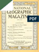 National Geographic Magazine 1916-06