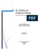 El Display Publicitario