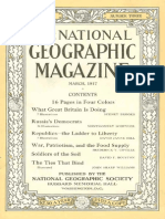 National Geographic Magazine 1917-03