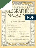 National Geographic Magazine 1917-04