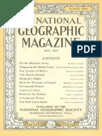 National Geographic Magazine 1917-05
