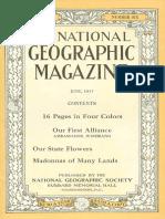 National Geographic Magazine 1917-06