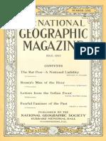 National Geographic Magazine 1917-07