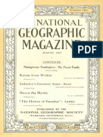 National Geographic Magazine 1917-08