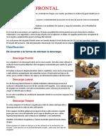 Cargador Frontal Manual
