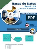 Sesión 05 - 2013-2. Ejercicios Propuestos