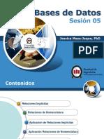 Sesión 05 - 2013-2