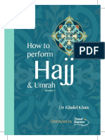 How to Perform Hajj and Umrah