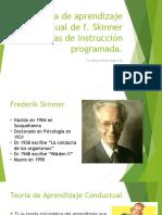Teoría de Aprendizaje Conductual