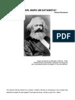Era Karl Marx Um Satanista - Richard Wurmbrand