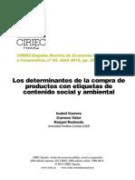Los Determinantes de La Compra de Productos Con Etiquetas (1)