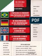 A Propaganda de Atrocidades é Uma Propaganda de Mentiras - Sérgio de Oliveira