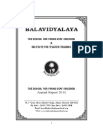 1.12.a Balavidyalaya Annual Report 2014 - School