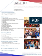 BIFS Newsletter, 2015-12-18 (English)