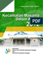 Kecamatan masama 2012