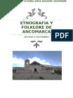 Etnografia y Folklore de Ancomarca