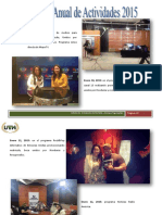 Memoria Anual 2015-1 Tegucigalpa