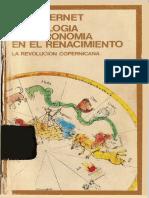 Vernet Juan - Astrologia Y Astronomia en El Renacimiento